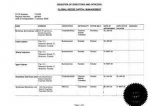 register of members template каймановы острова оффшорные офшорные зоны оффшоры и