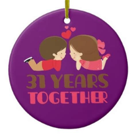 31 Year Anniversary Gifts   Top Ideas