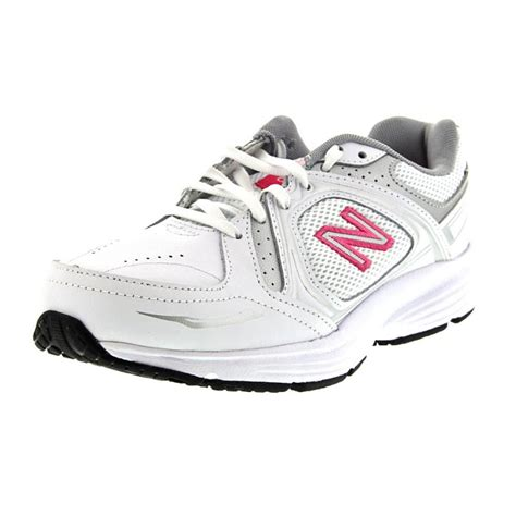 white leather athletic shoes new balance new balance ww655 leather white walking
