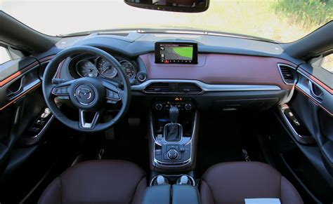 mazda interior 2016 2016 mazda cx 9 drive review three rows of zoom zoom