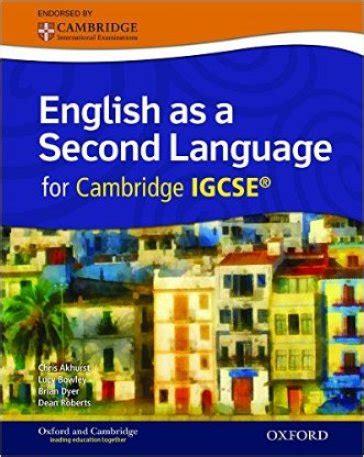 cambridge igcse english as english as a second language for cambridge igcse student s book con espansone online per le