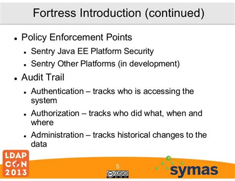 blibli web application security policy enforcement point fortress open source iam on ldapv3
