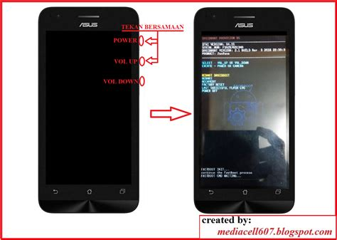 tutorial flash ulang asus zenfone 5 flash asus zenfone c menggunakan asus flash tool media cell