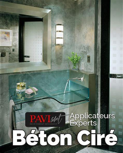 Salle De Bain En Beton Cire by B 233 Ton Cir 233 Pour Salles De Bain