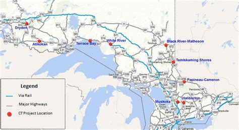 northern ontario map drivers home ontario autos post