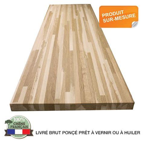 plan de travail bois massif 1270 plan de travail ch 234 ne brun massif fran 231 ais choix 26 32 38mm
