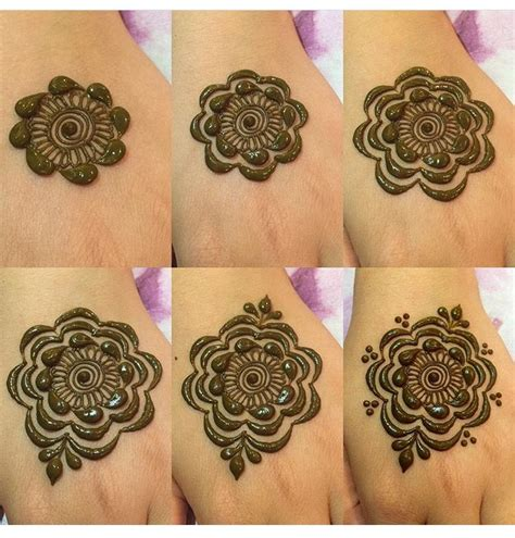 step by step henna design henna tattoos
