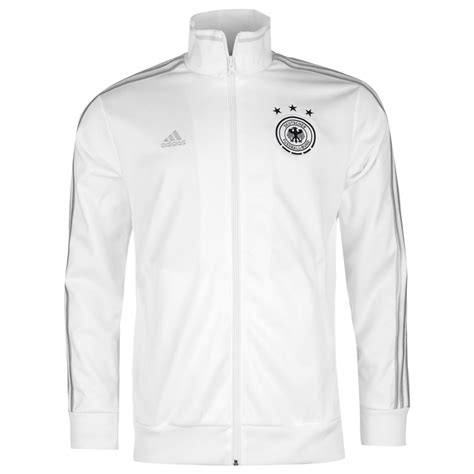 Sweater Germany adidas germany track jacket mens white black football soccer tracksuit sweater ebay
