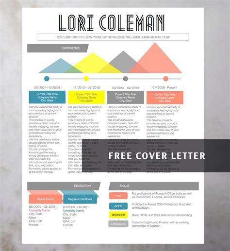 creative resume template from original r 233 sum 233 design