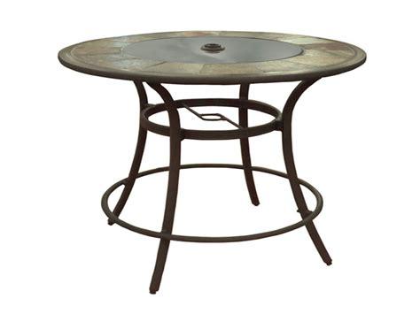 Round patio furniture, allen roth patio table round allen