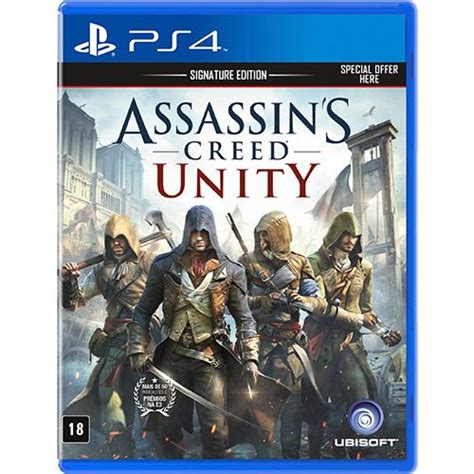 Kaset Ps4 Assasins Creed Unity Assassin S Creed Unity Cover Ps4 Cover