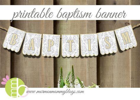 printable baptism banner 55 best lds baptism ideas images on pinterest church