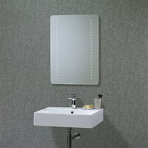 buy bathroom mirror buy roper rhodes flare led bathroom mirror john lewis