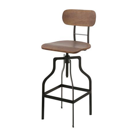 chaise de bar vintage chaise de bar vintage bois koya design