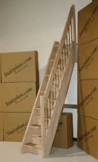 Wooden Loft Ladder With Handrail Alternating Tread Staircases Design Bookmark 10993