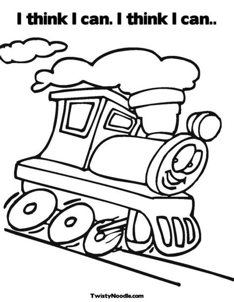 Little Engine That Could Coloring Pages - Coloring Home