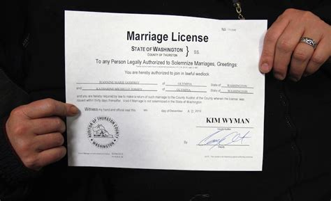 Thurston County Marriage Records Wash Couples Get Marriage Licenses Portland Press Herald