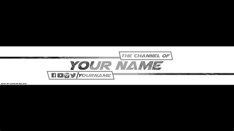 Free Banner Template For Youtube Channel 1 Photoshop Download 2017 2018 Youtube Channel Template 2017