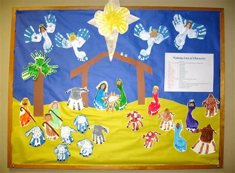 printable nativity scene for bulletin board nativity scene nursery kids learn the christmas story