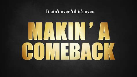The Come Back the comeback kid therunnerdad