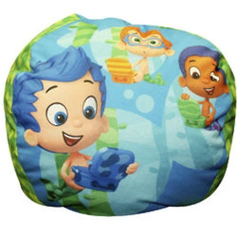 bubble guppies couch bubble guppies bean bag chair findgift com