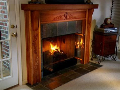Wood Burning Fireplace Pella Real How To Update A Fireplace Diynetwork Diy