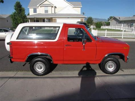 how to work on cars 1985 ford bronco electronic valve timing purchase used 1985 ford bronco custom sport utility 2 door 5 8l in grand junction colorado
