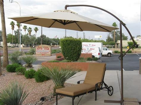 Offset Patio Umbrellas On Sale by The Wonderful Advantages Of An Offset Patio Umbrella