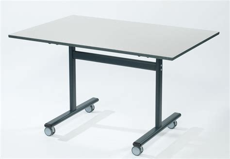 rectangular flip top desk premium 1200mm x 600mm