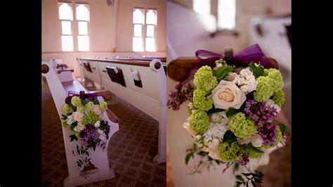 easy diy ideas  church wedding decorations youtube