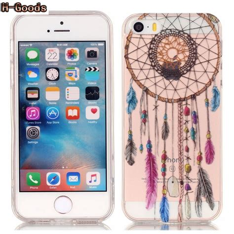 h goods luxury colorful slim phone shell pattern soft tpu for iphone 5s se 5s