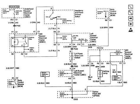 2001 silverado bcm wiring diagram wiring diagram with
