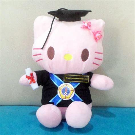 Boneka Wisuda Hellokitty Murah Grosir Kado Graduation jual boneka hello l asmi santa yogyakarta kado wisudaku