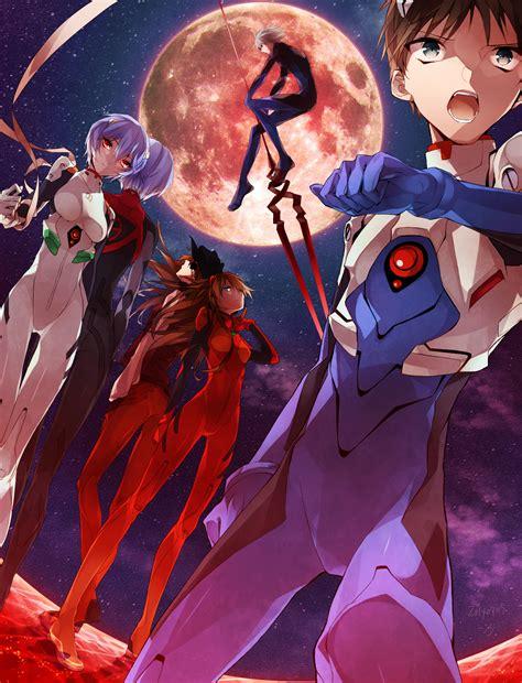 Evangelion Worst Anime Neon Genesis Evangelion Asuka And Shinji