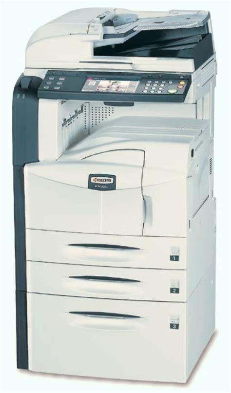Mesin Fotocopy Kyocera Km 5050 kyocera km 5050 din a3 kopierer scanner drucker adf duplex netz b ware all in one ger 228 te 10029804