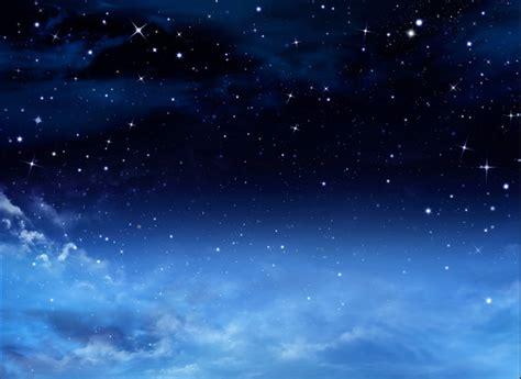 wallpaper langit biru malam 7x5ft ruang awan langit biru tua bintang malam waktu