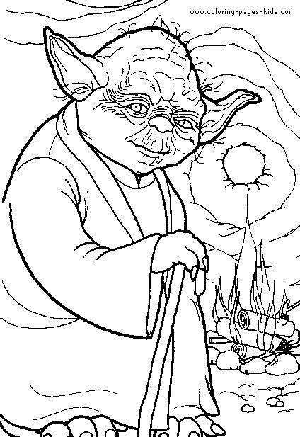 star wars color page cartoon color pages printable