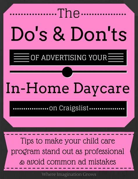 advertising your family child care program amazing