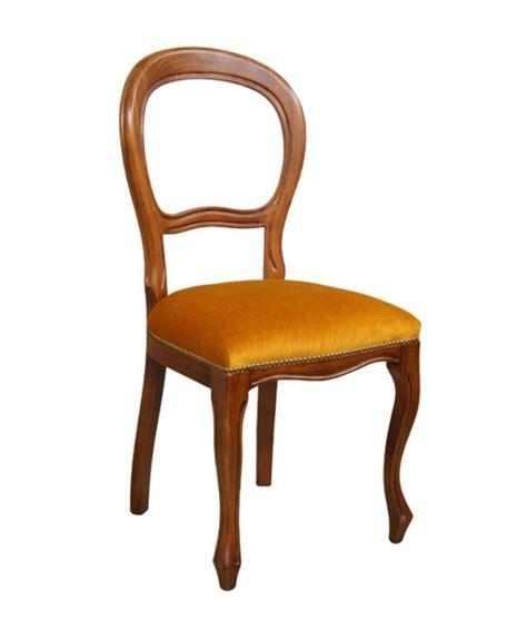 sedie luigi sedia luigi filippo seduta imbottita arteferretto