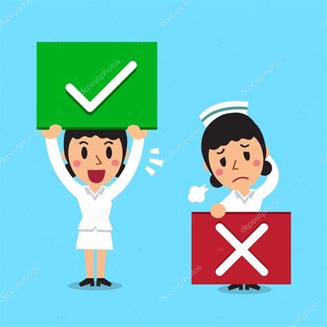 imagenes mal pensadas animadas enfermera de dibujos animados con las muestras bien y el