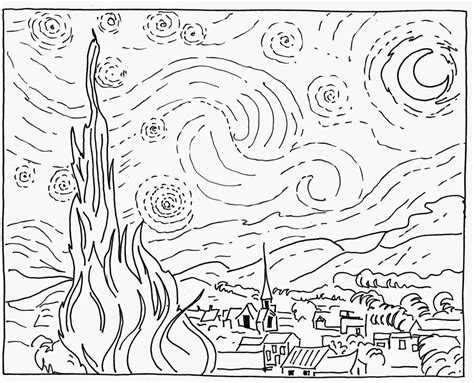 Starry Coloring Pages starry coloring page az coloring pages