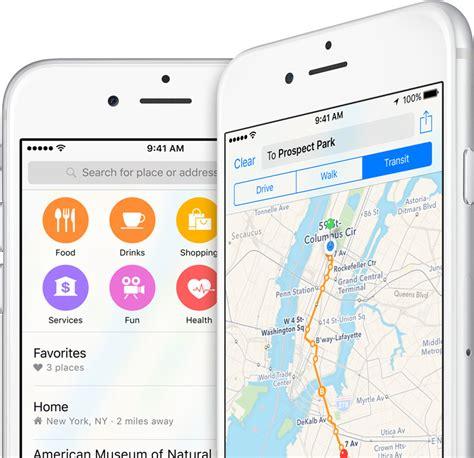 map app ios 9 maps apple