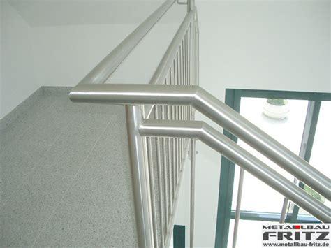 edelstahl treppengeländer schlosserei metallbau fritz edelstahl treppengel 228 nder