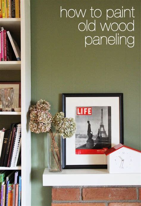 how to update wood paneling without painting 51 best images about painted paneling on pinterest