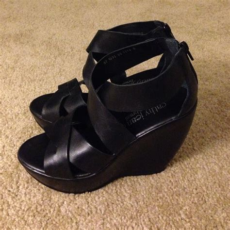 75 cathy jean shoes cathy jean wedge sandals from