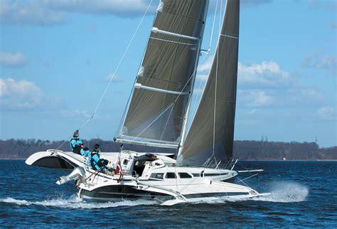 trimaran disadvantages boat review by multihulls world of trimaran multihulls