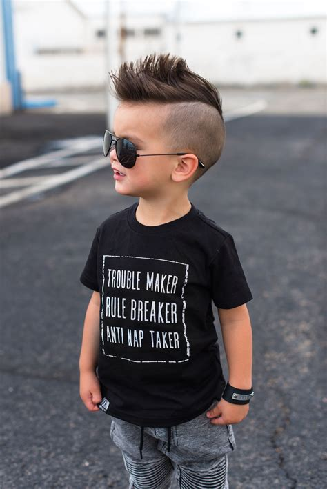 edgy teen boy haircuts inspiration fashion tee shirt cool kids raxtin boys