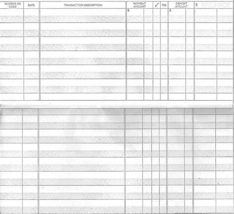 skills checkbook registry anyone lydia inc
