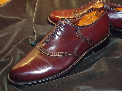 s saddle oxford dress shoes vintage hanover shell cordovan saddle oxford http www