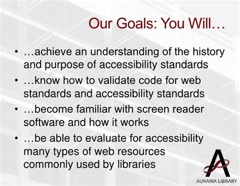 section 508 web accessibility standards accessibility update section 508 and wcag in a library 2